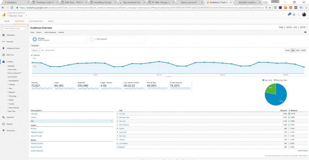 analytics-demo-account